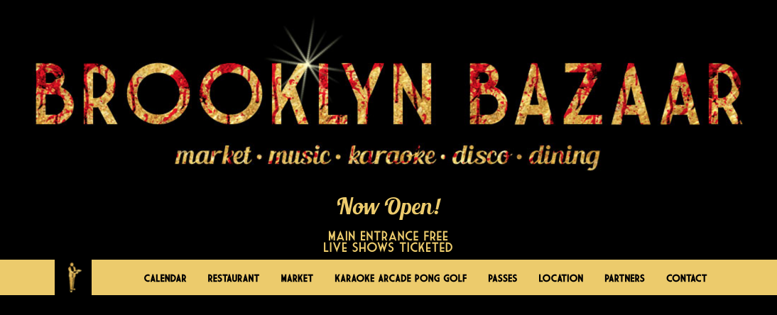 Brooklyn Bazaar | market  music  karaoke  disco  dining 2016 10 23 23 19 35